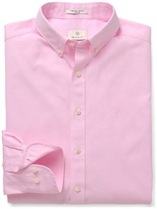 Gant Diamond G Pinpoint Oxford California Pink