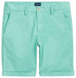 Gant Regular Sunbleached Pool Green