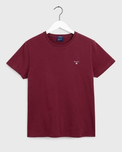 Gant Gant The Original T-Shirt Port Red