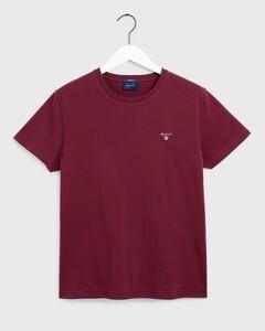 Gant Gant The Original T-Shirt Port Red