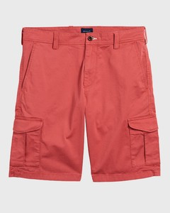 Gant Relaxed Twill Utility Shorts Mineral Red