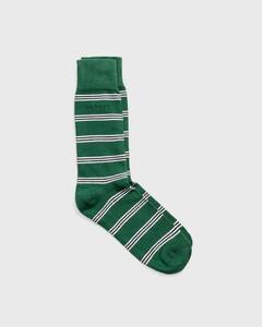 Gant Gestreepte Sokken Leaf Green