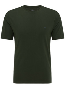 Fynch-Hatton Ronde Hals T-Shirt Thyme