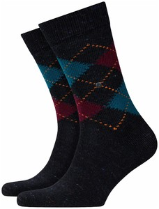 Burlington Illusion Tweed Zwart-Antraciet
