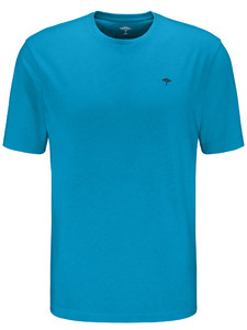 Fynch-Hatton Ronde Hals T-Shirt Crystalblue