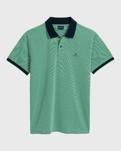 Gant Four Color Oxford Piqué Blarney Green