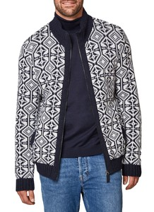 Maerz Structure Cardigan Navy