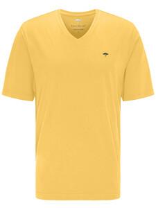 Fynch-Hatton V-Neck T-Shirt Citron