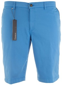 Gardeur Jasper-8 Uni Fine Contrast Light Blue