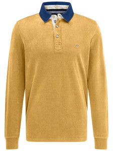 Fynch-Hatton Rugby Plain Shirt Mosterd
