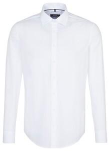 Seidensticker Cotton Uni Wit