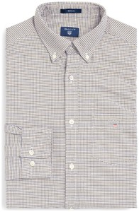 Gant The Oxford Check Persian Blue