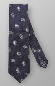 Eton Paisley Woven Tie Navy