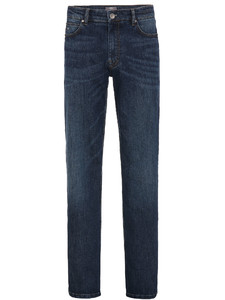 Fynch-Hatton Mombasa 5-Pocket Denim Donker Blauw