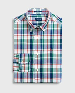 Gant Plaid Oxford Bladgroen