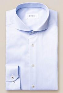 Eton Royal Signature Twill Extreme Cutaway Licht Blauw