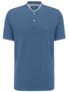 Fynch-Hatton College Collar Polo Pacific