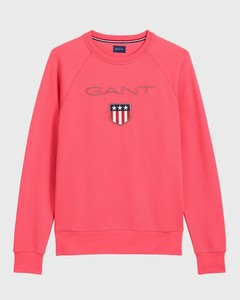 Gant Gant Shield Sweat Watermeloen Rood