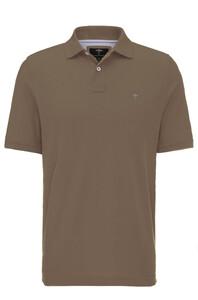 Fynch-Hatton Uni Polo Cotton Taupe