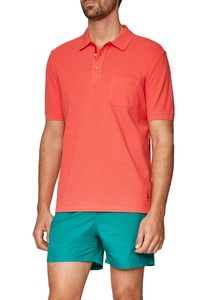 Maerz Polo Single Jersey Peaches