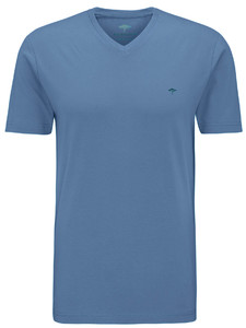 Fynch-Hatton V-Neck T-Shirt Pacific