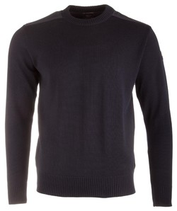 Paul & Shark Bretagne Merino Extrafine Roundneck Navy
