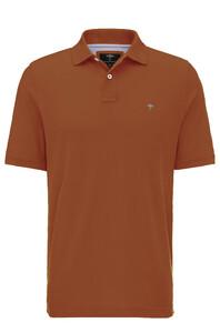 Fynch-Hatton Uni Polo Cotton Burnt Sienna