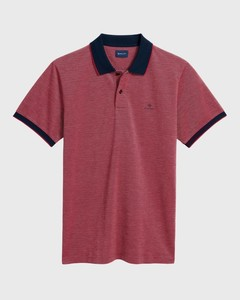 Gant Four Color Oxford Piqué Bright Red