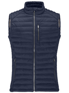 Fynch-Hatton Downtouch Vest Lightweight Denim Blue