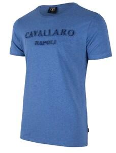 Cavallaro Napoli Miraco Tee Midden Blauw