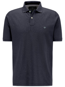 Fynch-Hatton Polo Uni Cotton Navy
