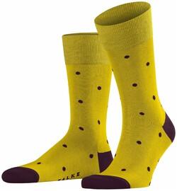 Falke Dotted Socks Diep Geel