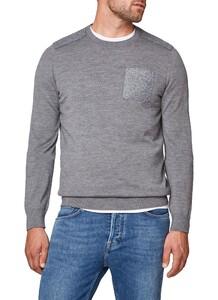 Maerz Patch Sweater Gresh