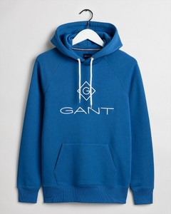 Gant Gant Lock Up Hoodie Bright Cobalt