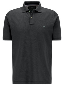 Fynch-Hatton Polo Uni Cotton Black
