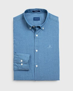 Gant Tech Prep Indigo Solid Button Down Indigo