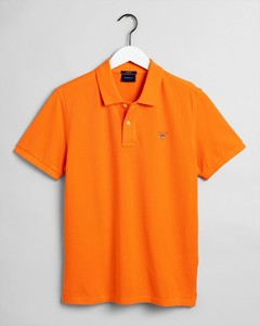 Gant Gant Piqué Polo Sunny Orange