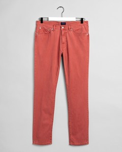 Gant Slim Straight Dusty Twill Jeans Redwood