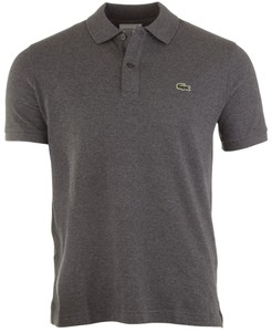 Lacoste Slim-Fit Piqué Polo Graphite Grey