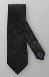 Eton Shiny Paisley Black Melange Dark