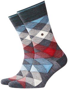 Burlington Newcastle Socks Scarab Melange