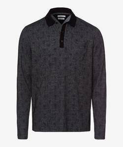 Brax Peyton Polo Long Sleeve Zwart