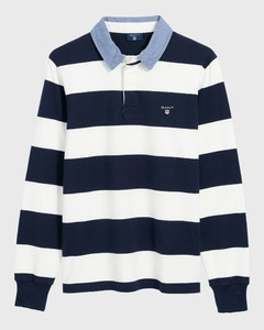 Gant The Original Barstripe Heavy Rugger Eggshell