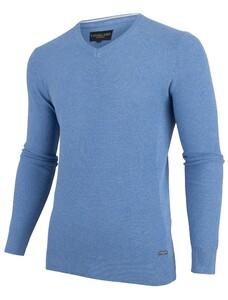 Cavallaro Napoli Ludo Pullover Midden Blauw