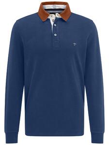 Fynch-Hatton Rugby Plain Shirt Midnight