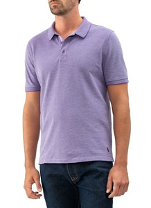 Maerz Polo Single Jersey Cyber Grape