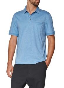 Maerz Uni Poloshirt Whispering Blue