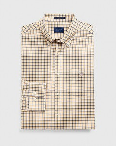 Gant The Broadcloth 3 Color Gingham Honey Gold