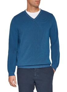 Maerz Uni Cotton Pullover New Indigo