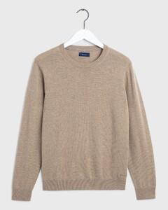 Gant Wool Cashmere Dark Sand Melange